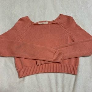 Forever21 cropped knit sweater